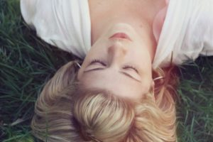 TMJ dentist- woman relaxing
