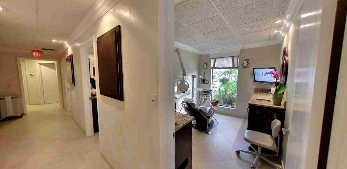 hallway operatory 1 - Ocean Breeze Prosthodontics